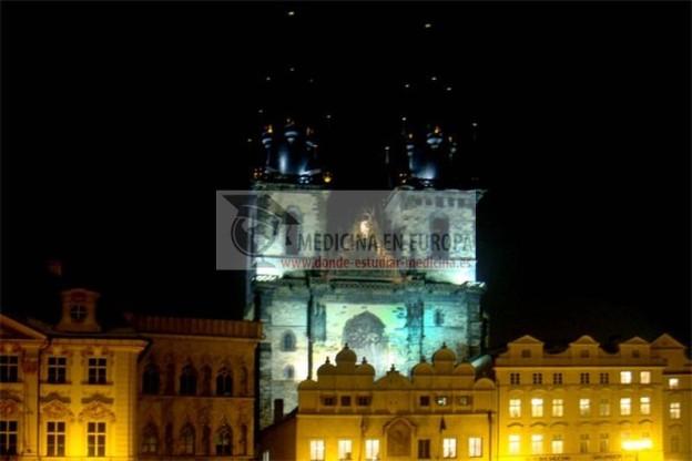 Prague to study Medicine