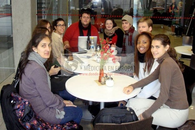 Spanish students at Kaunas University